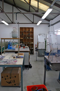 Picture of the Cold Processing Room